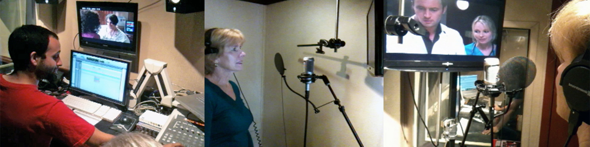 ADR session in trailer