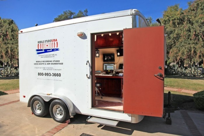 Mobile ADR Stage. Mobile Recording Studio